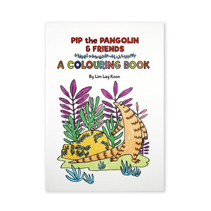 (L.K. Lim) Pip The Pangolin Colouring Book