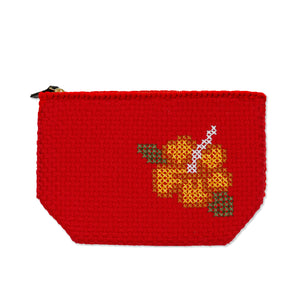 Rags2Riches Hibiscus Clutch