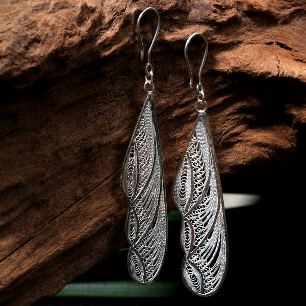 Selaka Kotagede Earrings - Flying Ant Wings