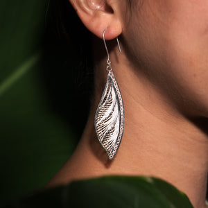 Selaka Kotagede Earrings - Butterfly wings