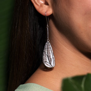 Selaka Kotagede Earrings - Fly Wings