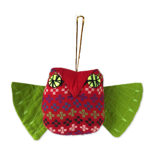 Hla Day Animal Ornament - Owl