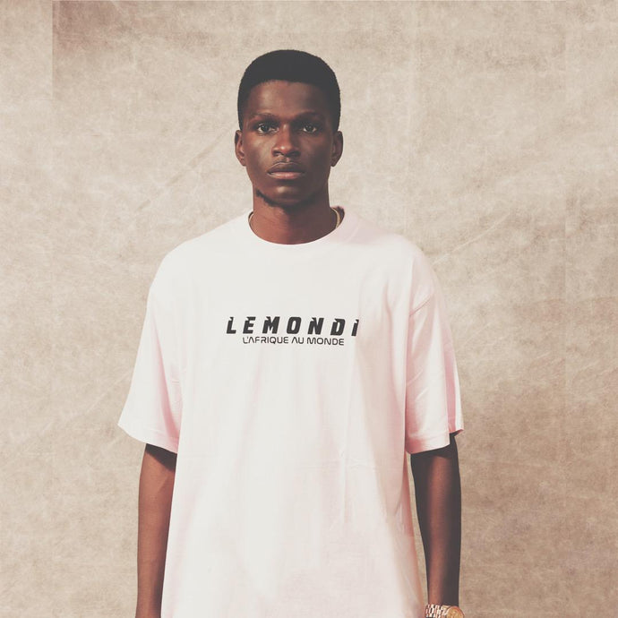 LEMONDI PINK LOGO T-SHIRT