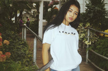 LEMONDI WHITE LOGO T-SHIRT