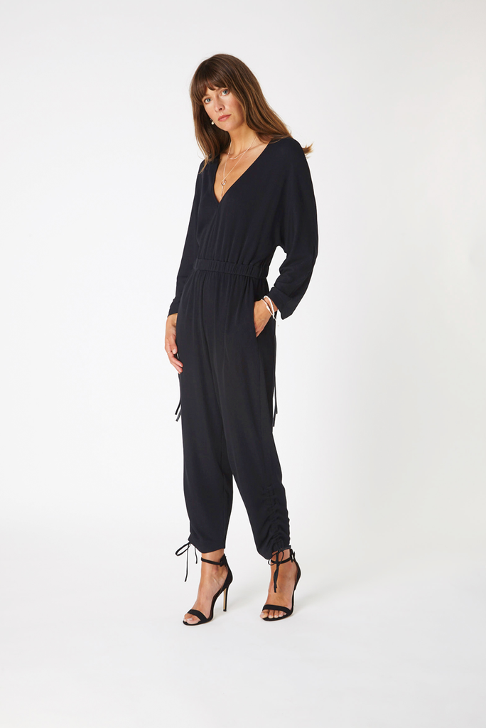 Notting Hill Jumpsuit - Black