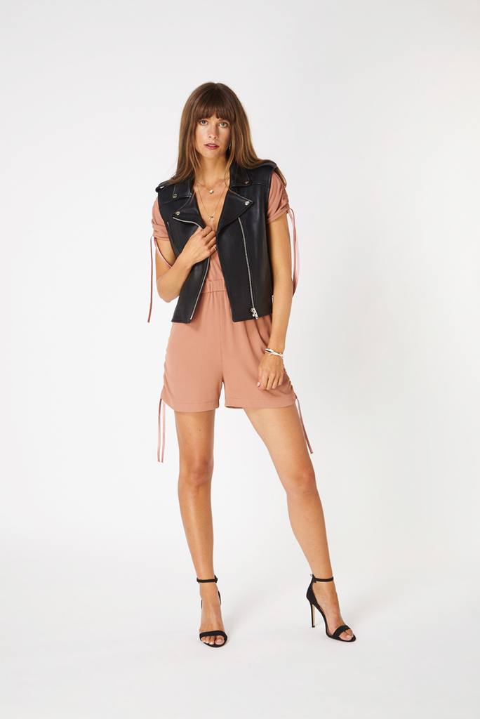Hoxton Playsuit - Rose