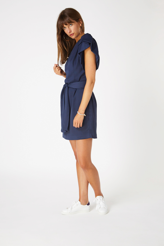 Chelsea Dress - Navy Blue
