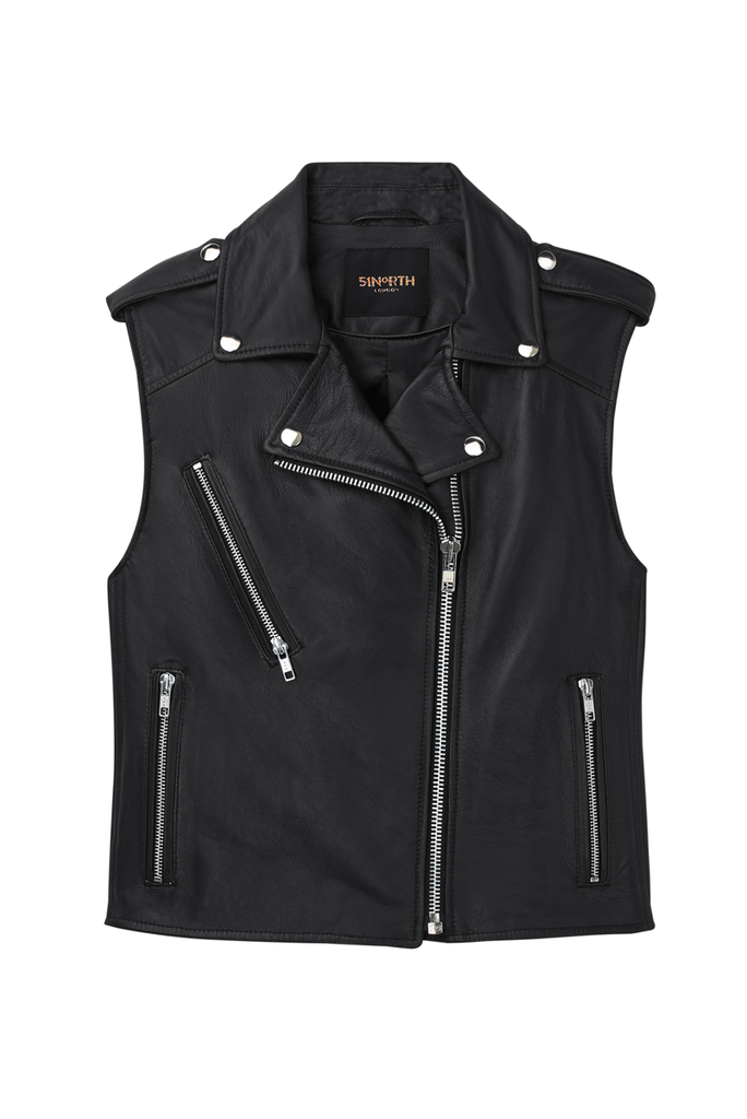 The 51N Sleeveless Gilet - Black