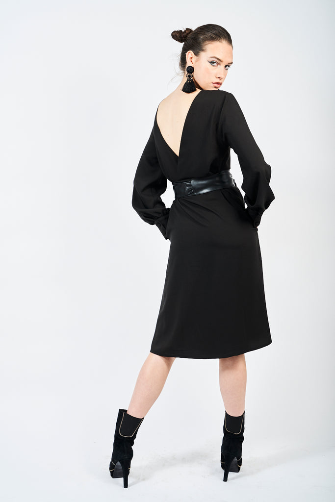 The Wardour Dress - Black