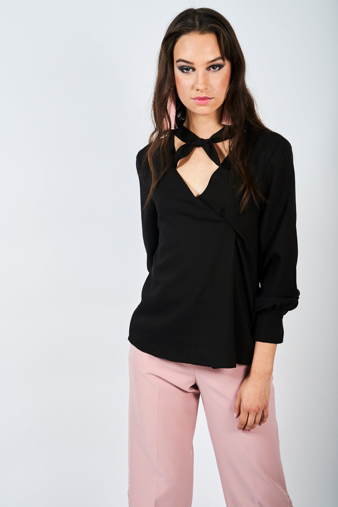 The Berwick Blouse - Black