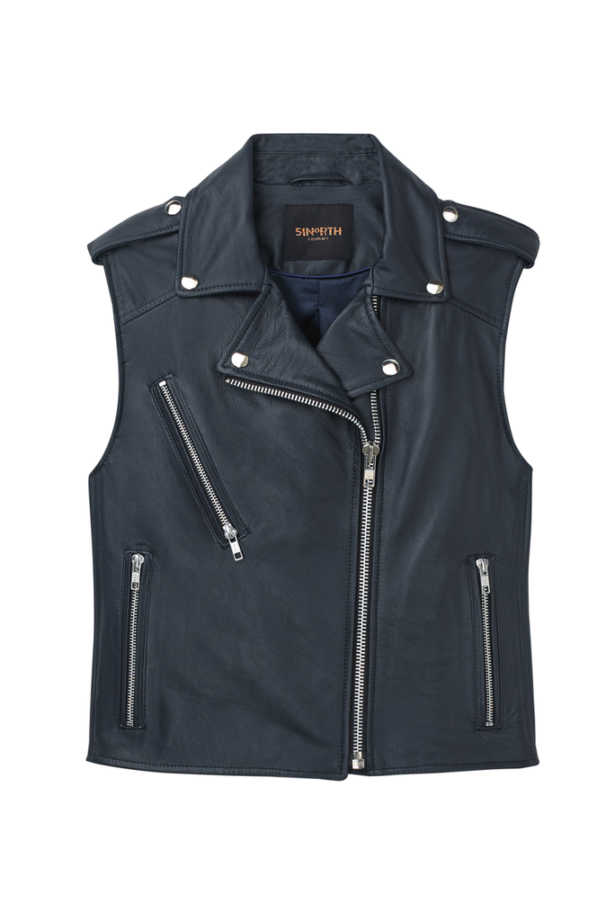 The 51N Sleeveless Gilet - Navy Blue
