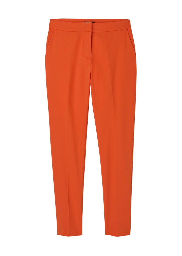 The Cabot Square Trouser - Tangerine