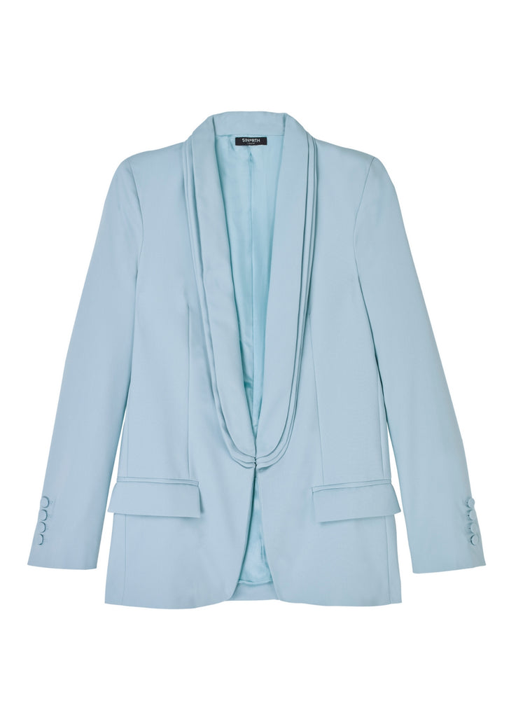 Cabot Square Blazer - Powder Blue