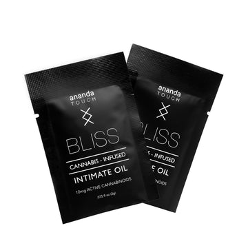 BLISS SINGLE USE: CANNABIS INFUSED INTIMATE OIL