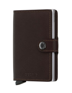 Secrid RFID Blocking Mini Wallet Dark Brown