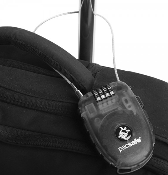 Pacsafe Retractasafe 250 Retractable 4 Dial Cable Lock