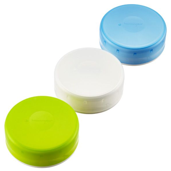 GoTubb 3-Pack Medium 2.9fl oz. Containers