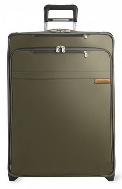 "Briggs and Riley Baseline Large 28"" Expandable Upright Olive"