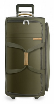 Briggs and Riley Baseline Large Upright Duffle Olive