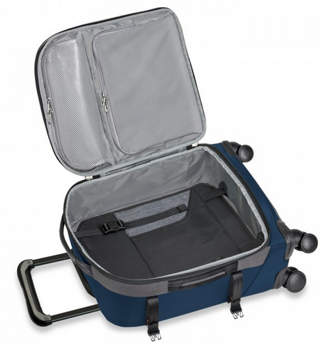 Briggs & Riley BRX Explore International Wide-Body Spinner Carry-On Open