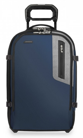 Briggs & Riley BRX Explore Domestic Expandable Upright Carry-On Blue