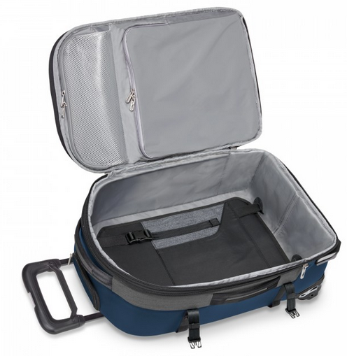Briggs & Riley BRX Explore Domestic Expandable Upright Carry-On Open