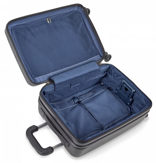 Briggs & Riley Sympatico Carry-On CX Spinner Interior Open