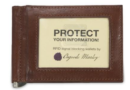 Osgoode Marley RFID Money Clip Wallet