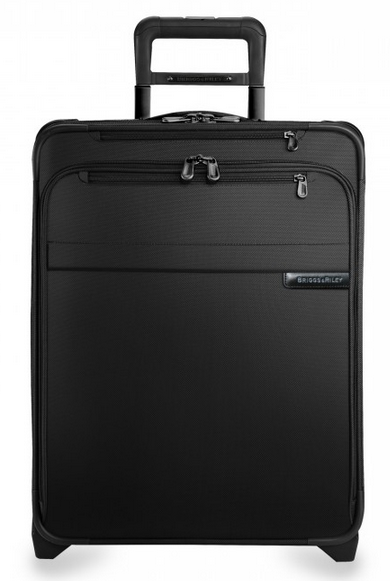 Briggs & Riley Baseline International Carry-On Wide Body Upright Black