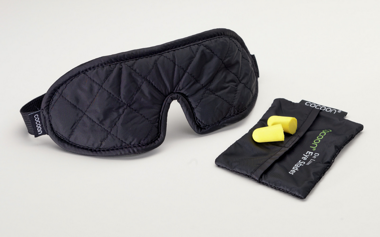 Cocoon Eye Shades Deluxe + Earplugs