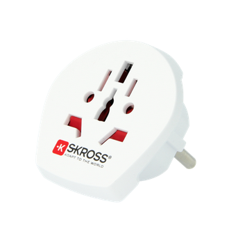 SKROSS World Adapter to Europe