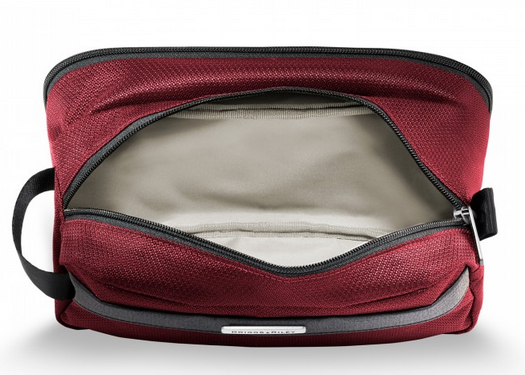 Briggs & Riley Transcend Toiletry Kit Open