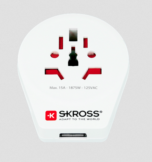 SKROSS World Adapter to USA USB