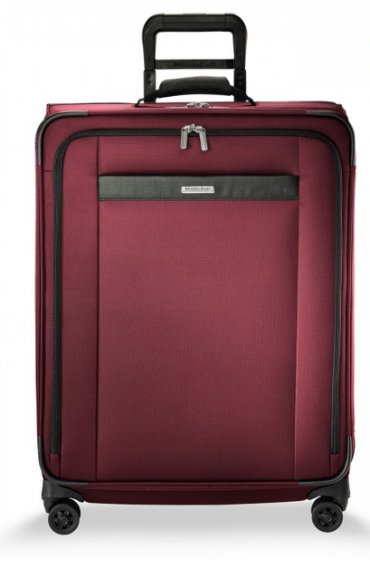 "Briggs & Riley Transcend 26"" Medium Expandable Spinner Merlot"