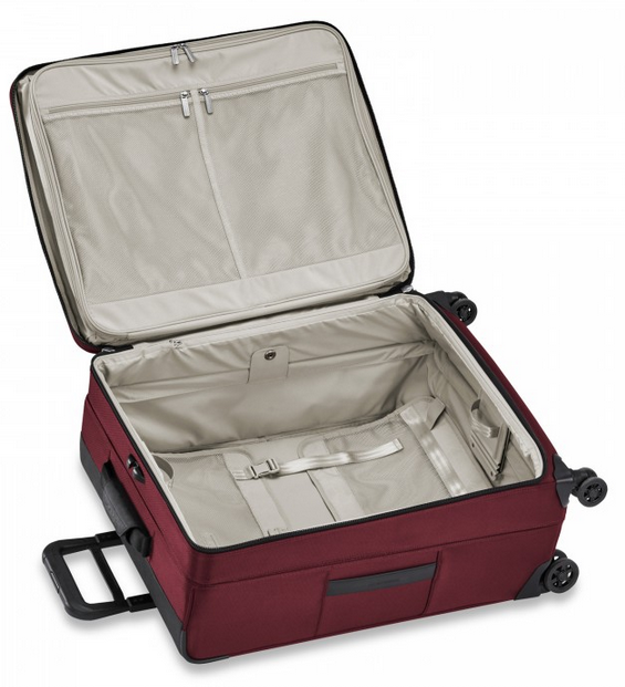 "Briggs & Riley Transcend 26"" Medium Expandable Spinner Interior"
