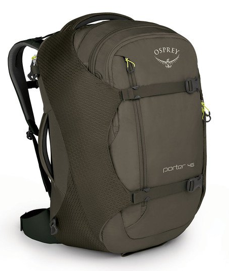Osprey Porter 46L Travel Backpack Castle Grey