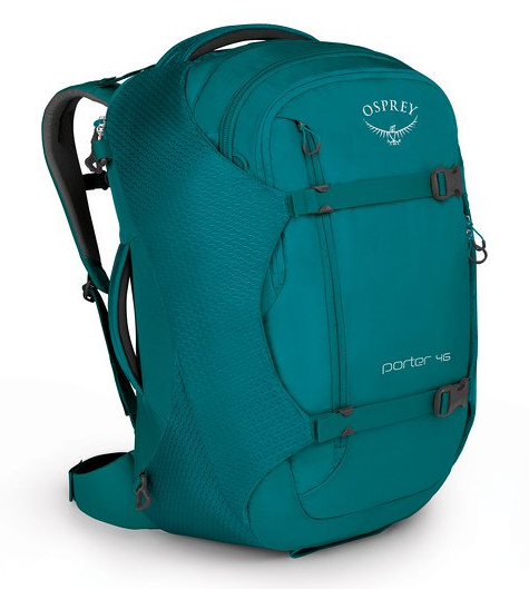 Osprey Porter 46L Travel Backpack Mineral Teal