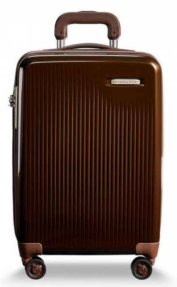 Briggs and Riley Sympatico Carry-On CX Spinner Bronze