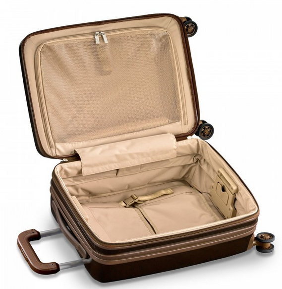 Briggs and Riley Sympatico Carry-On CX Spinner Interior