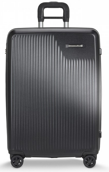 Briggs & Riley Sympatico Medium CX Spinner Hardside Luggage Black