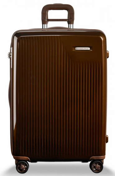 Briggs & Riley Sympatico Medium CX Spinner Hardside Luggage Bronze