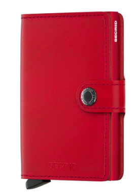 Secrid RFID Blocking Mini Wallet Red