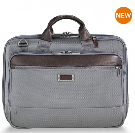 Briggs & Riley @Work Medium Brief Grey