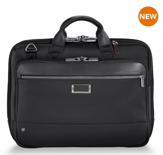 Briggs & Riley @Work Medium Brief Black