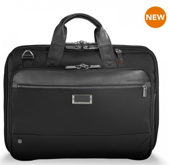 Briggs & Riley @Work Medium Expandable Brief Black