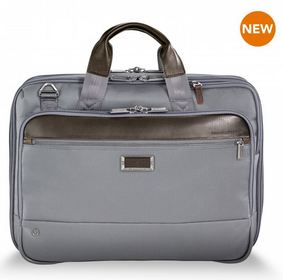 Briggs & Riley @Work Medium Expandable Brief Grey