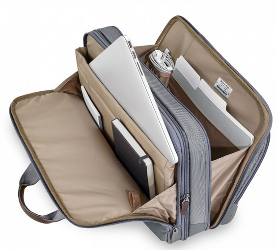 Briggs & Riley @Work Medium Expandable Brief Laptop