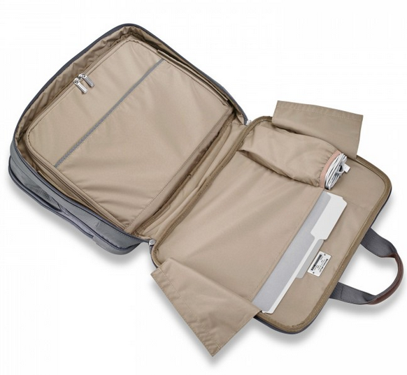 Briggs & Riley @Work Medium Expandable Brief Inside
