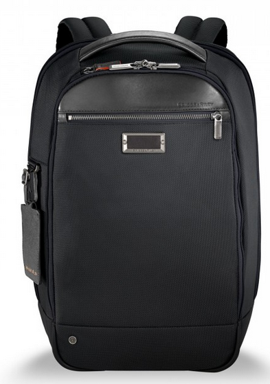 Briggs & Riley @Work Medium Slim Backpack Black