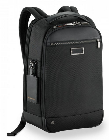 Briggs & Riley @Work Medium Slim Backpack Side